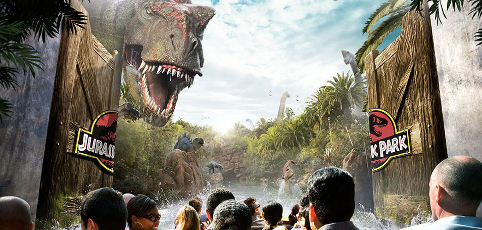 Universal Studios Hollywood<sup>SM</sup> Los Angeles, Californie Jurassic Park<sup>®</sup> The Ride